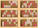 Bingo Rider 6 Card Game