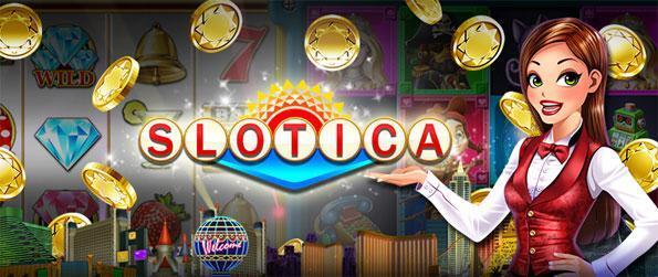Slotica Casino Slots - Disfruta de una nueva experiencia ranuras marca, con grandes máquinas y enormes bonificaciones disponibles.