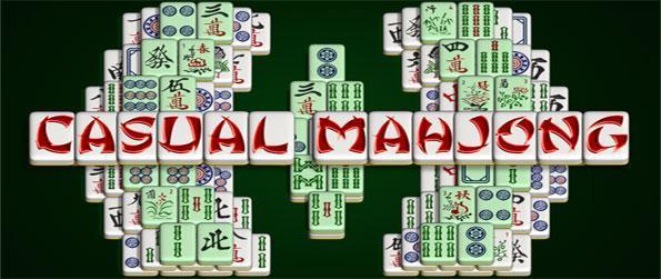 Casual Mahjong - Disfrute de un juego de Mahjong Casual mahjong suave y divertido con una gran variedad de diferentes modelos y baldosas a utilizar.