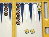 Royal Sands theme in PlayGem Social Backgammon