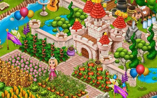 Beautiful Castle & Farm in Royal Story