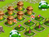 Happy New Year Farm: Christmas growing crops