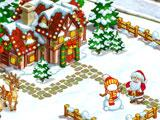 Happy New Year Farm: Christmas gameplay