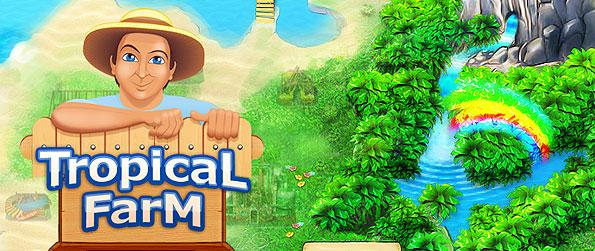 Tropical Farm - Revive a desolated island and let it flourish with fresh farm produce in this wonderful farming game.
