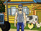 Farmer Game's Main Hub Area