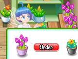 Ordering more flowers in Flower Shop