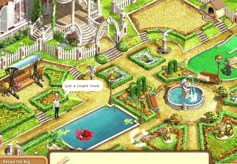 Lovely Gardenscapes: Mansion Makeover Lawn And Garden ...