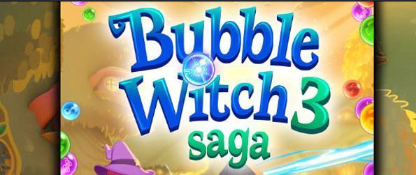 Bubble Witch Saga 3 - Rescue the fairy queen from the evil cat mage, Wilbur.