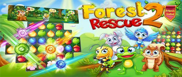 Forest Rescue 2: Friends United - Play this epic match-3 game that'll take you on an epic and memorable adventure.