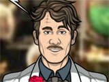 Criminal Case: Mysteries of the Past performing an autopsy
