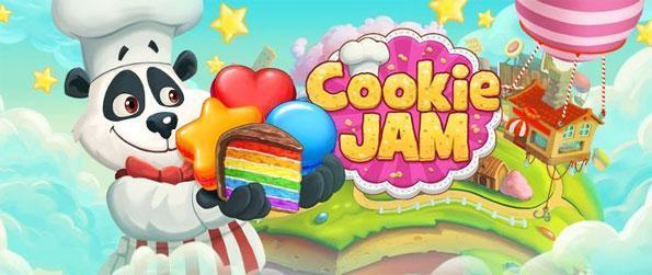 Cookie Jam - Play a fantastic new match 3 game, enjoy completing recipes as you match sweet cakes.