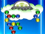 Descending UFO