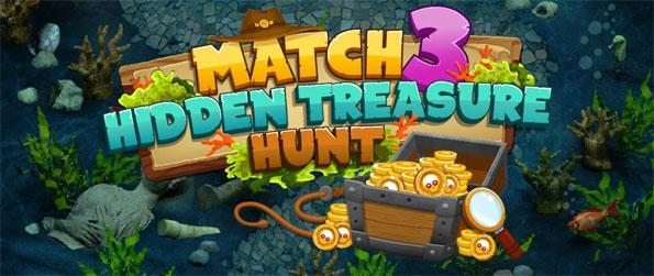 Match-3 Hidden Treasure Hunt - Explore the mysterious island in search of the legendary hidden treasures in Match-3 Hidden Treasure Hunt!