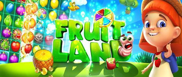 Fruit Land - Enjoy a fun filled match-3 experience that's sure to provide hours upon hours of fun and joy.