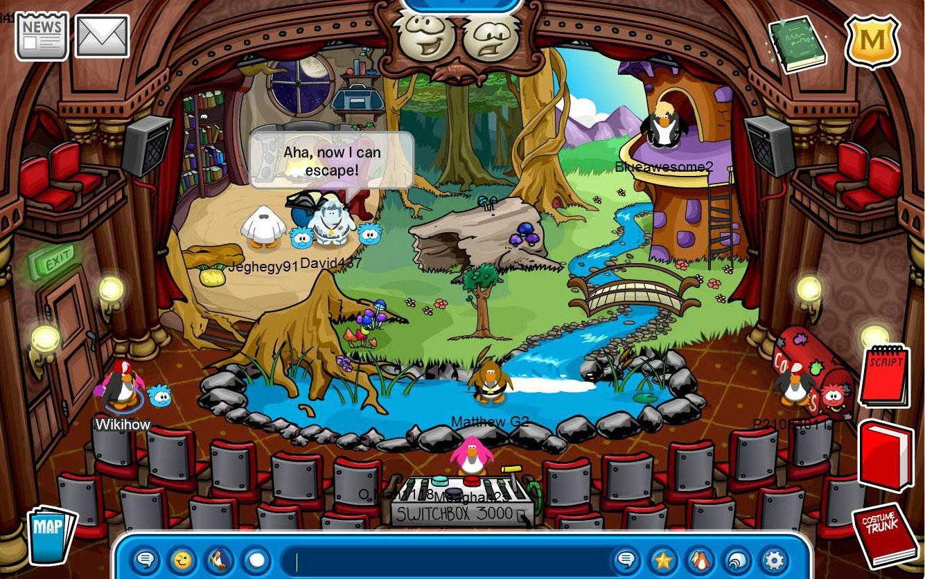Other Games Like Club Penguin