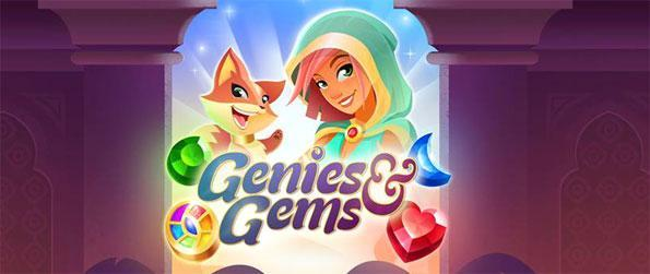 Genies & Gems - Match 3 or more gems to collect gold and other treasures in Genies & Gems!