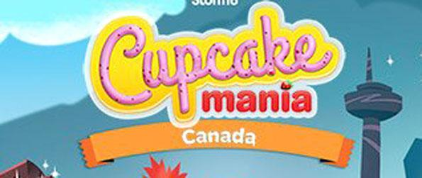 Cupcake Mania: Canada - Collect mouth-watering pastries in this match-3 game Cupcake Mania: Canada.