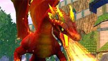 Summoned dragon in Wizard 101