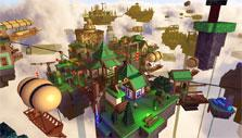Explore beautiful worlds in Roblox
