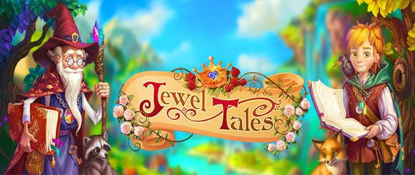 Jewel Tales - Explore a magical kingdom in this innovative match-3 game that doesn't disappoint.
