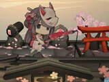 A Girl Adrift: Sakura theme