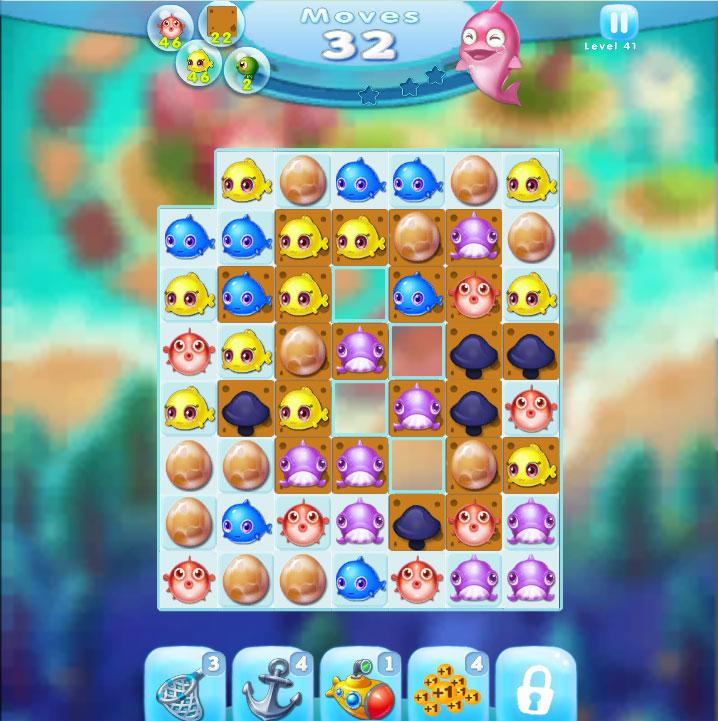 Charm fish mania review free casual games for Fish mania game
