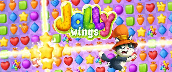 Jolly Wings - Explore a beautifully designed world with the help of a parrot.