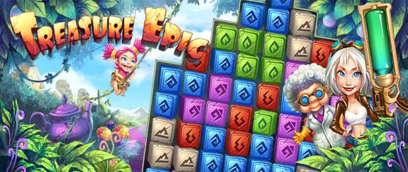 Treasure Epic - Take a trip around the world as you help Dora collect treasures in this Facebook Game.