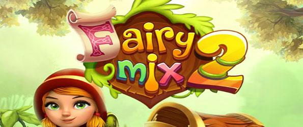 Fairy Mix 2 - Jeannie is back to fight back Mortimer, an enchanted chest cursed by an evil witch, in this exciting match-3 adventure game, Fairy Mix 2!