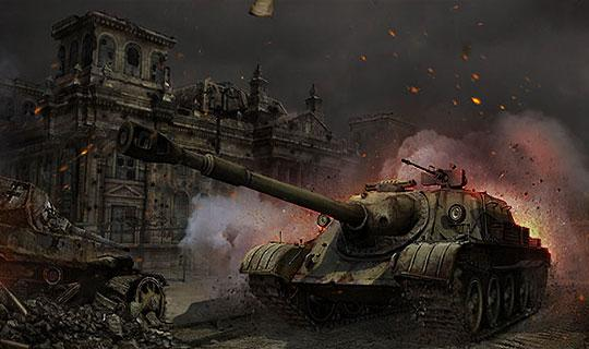 Ferocious War Machine in Ground War: Tanks