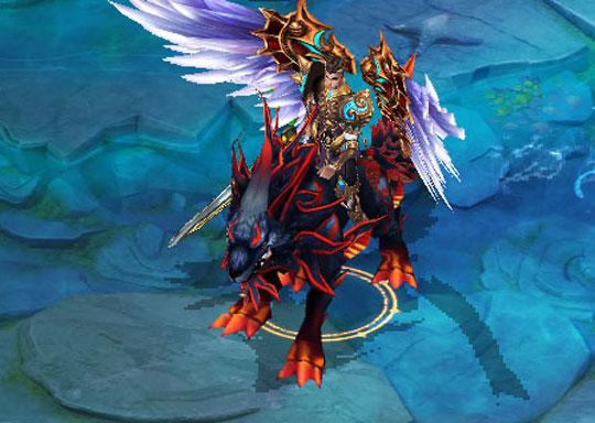 Use Your Mount & Wings in Celestial Dynasty