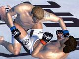 EA Sports UFC locking down an opponent
