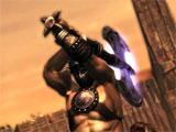 Combat in Doom Warrior
