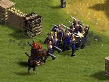 Attacking Legion in Summoner's Gate
