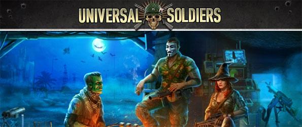 Universal Soldiers - Play this epic game in which you raid massive bases with squads of talented soldiers and massive machinery backing you up.