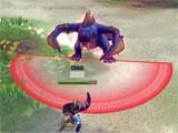 Combat in Dragomon Hunter