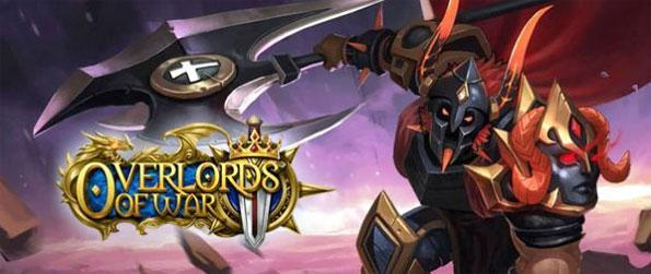 """Overlords of War - Side with the forces of good or evil in a struggle to claim the powers of the """"Sealed Sword"""" in this brand new MMO strategy game, Overlords of War!"""