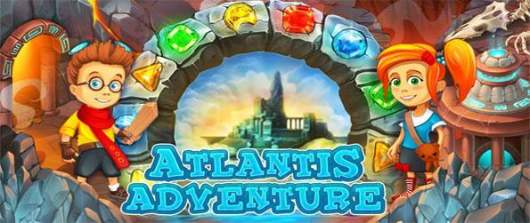Atlantis Adventure - Join the adventure in the magical world of Atlantis in this fabulous Match 3 Game Free on Facebook.