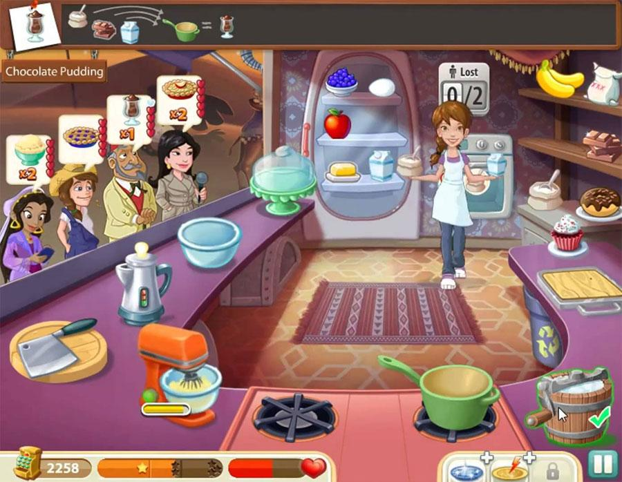 Kitchen Scramble - Girl Games Town