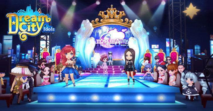 37Games Launches Dream City Idols for iOS and Android!
