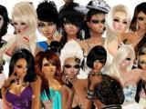 Beautiful models in IMVU