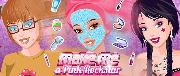 Make Me a Pink Rock Star - In this simulation game, players are mainly given the special opportunity to beautify and pamper their characters with all sorts of much needed aesthetics.