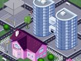 Luxurious buildings in Shopaholic
