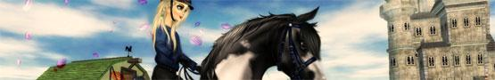 Koňské online hry - 3D Horse Riding Games