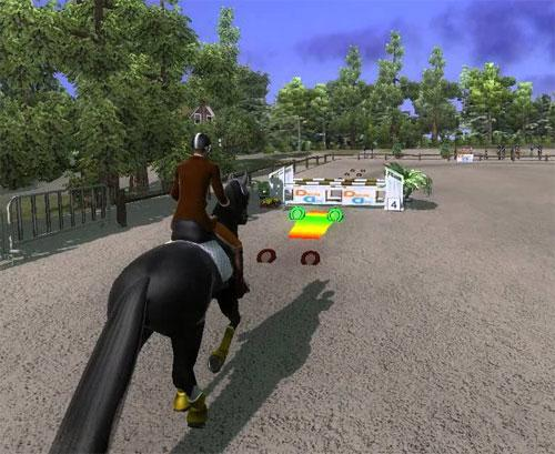 Timing in Ride: Equestrian Simulation