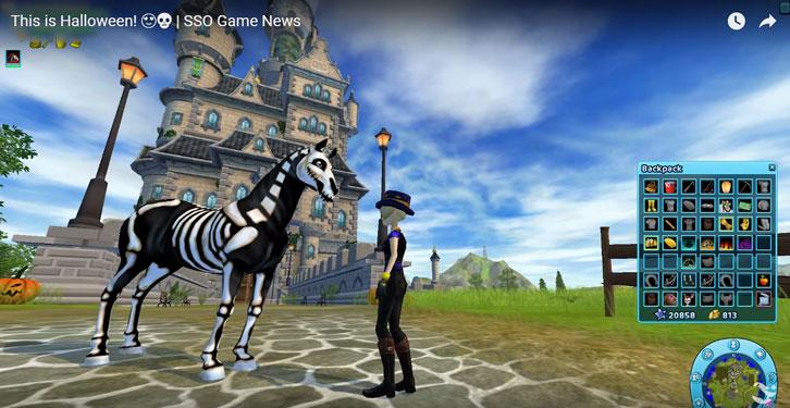 Halloween has Arrived in Star Stable!