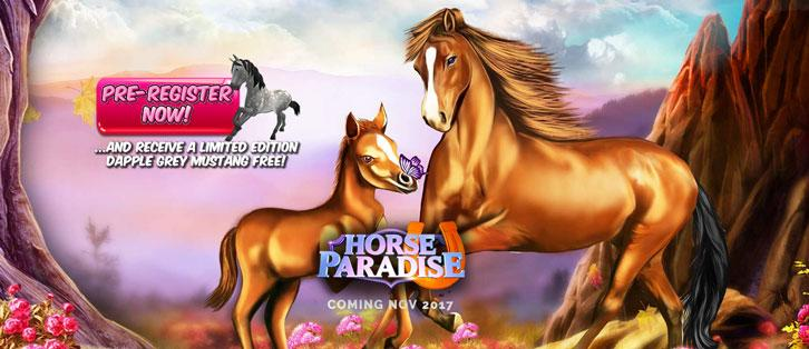 Horse Paradise is Coming to Your Mobile Nov 2017