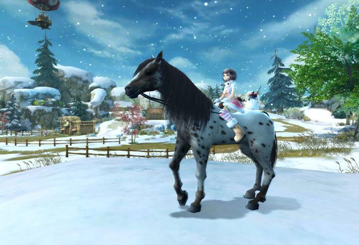Winter Arrives in Alicia Online