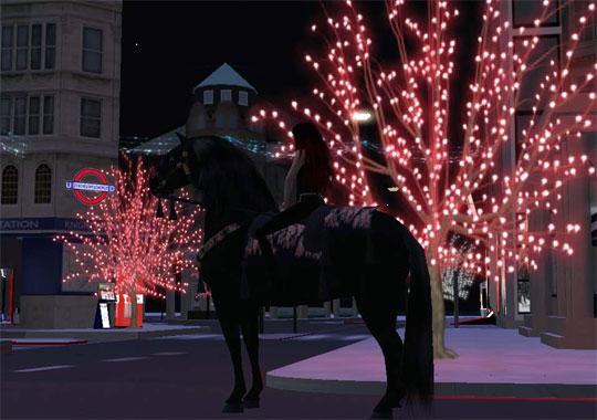 Enjoy a Christmas Ride in Second Life