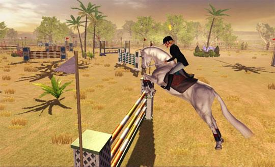 Desert Themed Course in Riding Club Championships